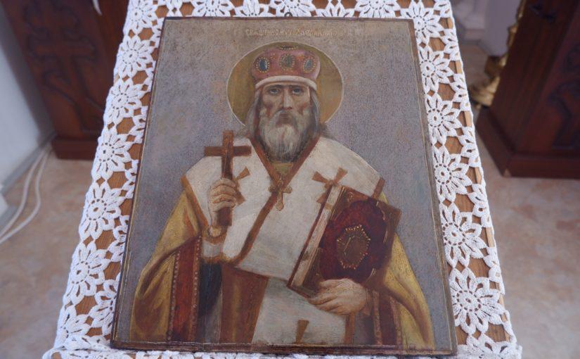 Епископ Митрофан совершил Божественную Литургию в храме с. Липяги