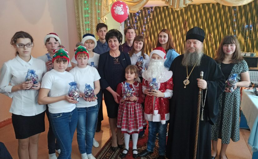Преосвященнейший Митрофан посетил школу-интернат г. Сердобска