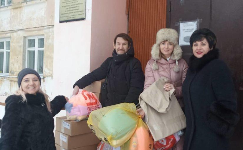 Посещение школы-интерната г. Сердобска