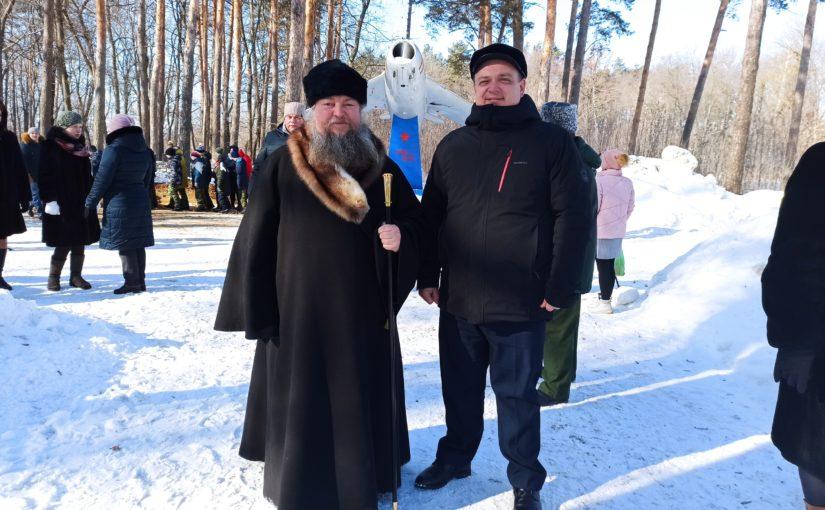 Епископ Митрофан принял участие в мероприятии, посвященном празднованию 23 февраля