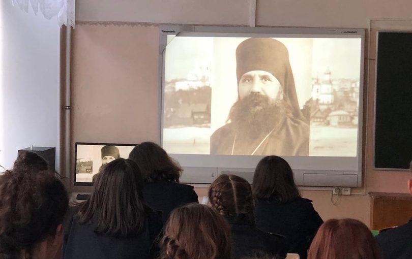 В Колышлейском районе состоялась презентация фильма о священномученике Иоанне Рижском