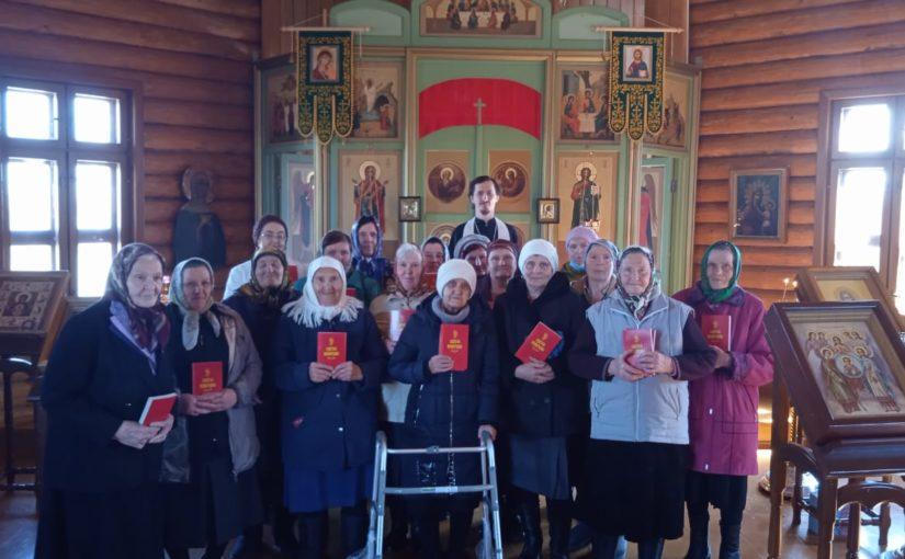 """Акция """"Евангелие в каждый дом"""" в Наровчатском благочинии"""