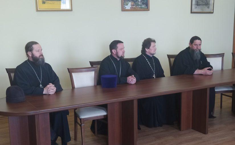 В Сердобске прошло собрание духовенства окормляющего казачьи станицы и хутора