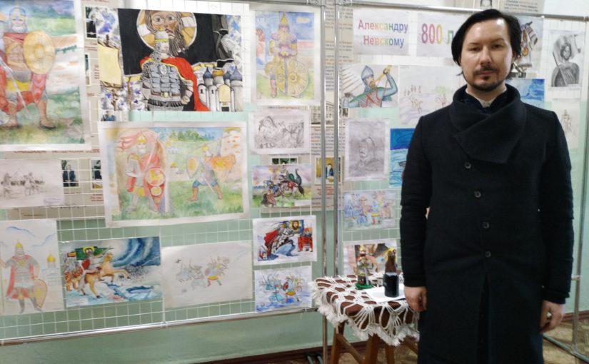 Иеромонах Вениамин (Гришинов) принял участие в районном конкурсе посвящённом 800-летию со дня рождения Александра Невского