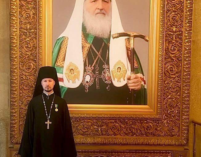 Иеромонах Вениамин (Гришинов) принимает участие в X Общецерковном съезде по социальному служению