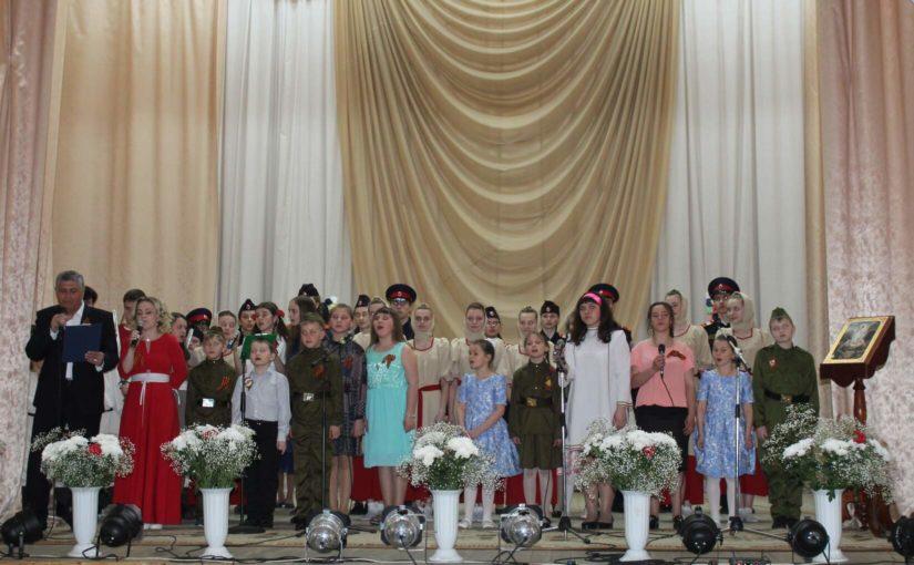 Пасхальный концерт в п. Колышлей