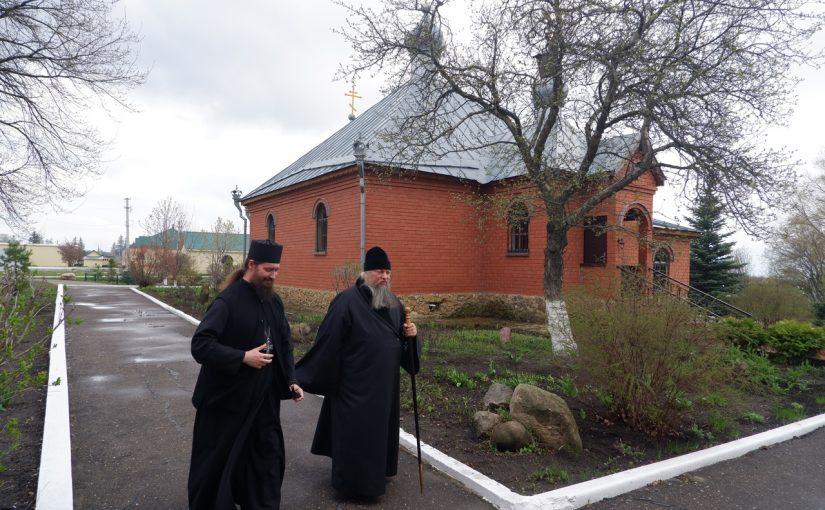 Накануне Пасхи Преосвященнейший Митрофан посетил храмы Сердобского района