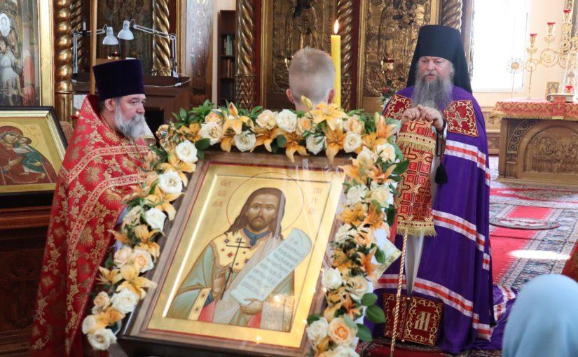 В день памяти сщмч. Григория (Самарина), епископ Митрофан совершил Литургию в соборе г. Спасска
