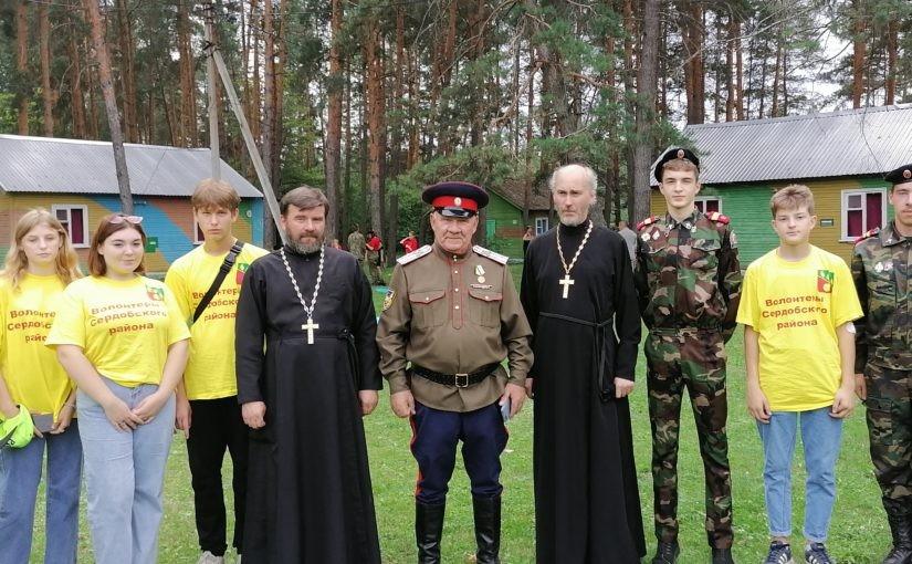 Священнослужители епархии приняли участие в казачьем фестивале на Хопре