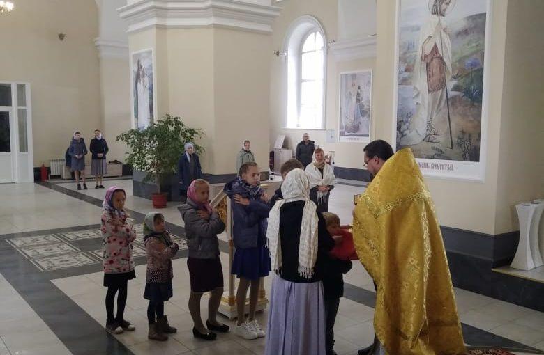 Открытие учебного года в воскресной группе «Православная радуга»