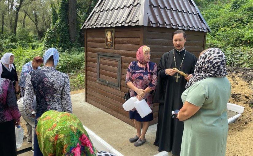 В с. Зелёновка Сердобского района состоялось открытие источника в честь Рождества Христова