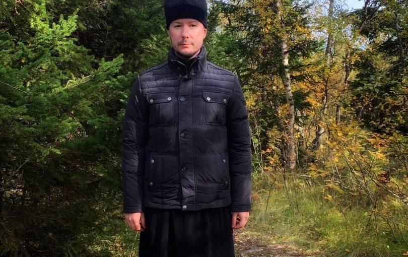 Иеромонах Вениамин (Гришинов) посетил Сергиевский скит Соловецкого монастыря на острове Муксалма