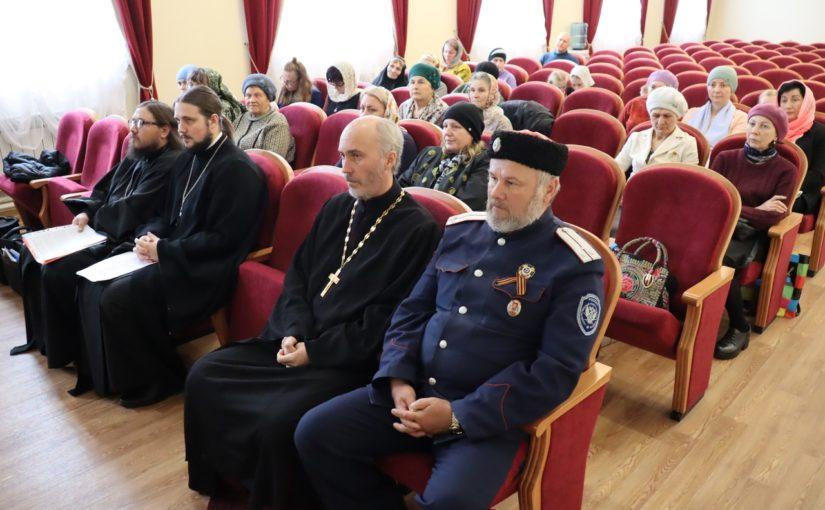Региональные XXVI Рождественские чтения в Сердобске